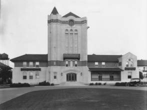 Agnews Clock Tower building, built in place of the collapse treatment wing after the 1906 earthquake