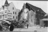 1906 Earthquake damaged First Presbyterian Church.