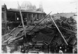 1906 earthquake damage on South First Street.