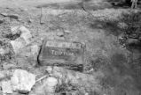 1956 Chinese cemetery.