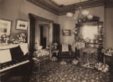 Richards' family parlor.