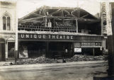 1906 Earthquake damaged Unique Theatre.