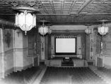 Interior view of Liberty Theatre.
