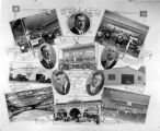 Photo collage of F.E. Granger owned businesses.