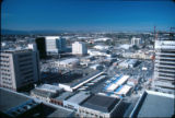 Downtown San Jose, elevated view