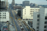 First Street, elevated view, 1988