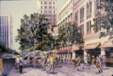 Transit Mall, rendering