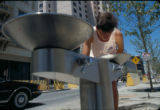 Transit Mall, water fountain, 1988