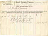 Townsend Property Taxes 1869