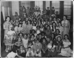 1957, Old Post Office building, Children's Room costume party
