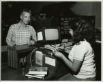 1980 King Library Circulation Computer Terminal