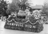 1929 Parade Float, Campbell High School