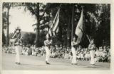 1928 Marching band, California Grays