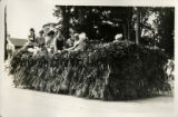 1928 Parade float, San Jose Hairdresser's Association
