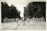 1928 Marching Band, San Jose High School