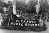 1929 Parade Float, San Jose Clearing House Bank