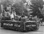 1929 Parade Float, Mountain View American Legion