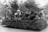 1929 Parade Float, Salinas Chamber of Commerce