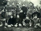 San Jose State Normal School Football team players.