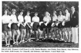 Women's Golf team players.