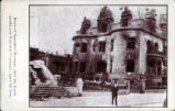 Spreckels' Mansion after the 1906 earthquake.