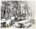 Group of people picnicking