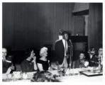 Man speaking at the 1965 YWCA annual meeting