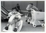 Children playing at the YWCA day care center