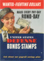 Wanted - fighting dollars : make every pay-day: bond day.