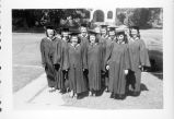 Shirley Orpha Smith and classmates.