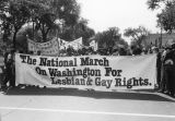 National march banner
