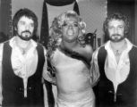 Billy DeFrank and two unknown male entertainers.