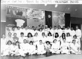 Group portrait of AIDS quilt volunteers