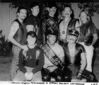 Group portrait of leather title holders