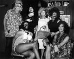 Six female impersonators