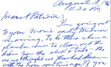 Letter from Carl Duncan to Patricia Whiting, August 18, 1966