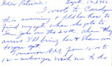 Letter from Carl Duncan to Patricia Whiting, September 12, 1966