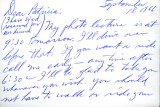 Letter from Carl Duncan to Patricia Whiting, September 18, 1966