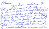 Undated letter from Carl Duncan to Patricia Whiting, month day, year