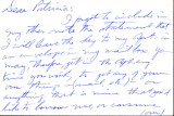 Undate letter from Carl Duncan to Patricia Whiting