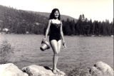 Patricia Whiting at the lake