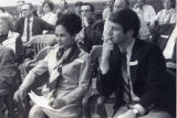 Vince and Patricia Whiting listening at a hearing